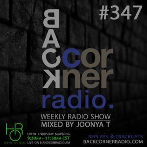 BACK CORNER RADIO: Episode #347 (Nov 1st 2018)