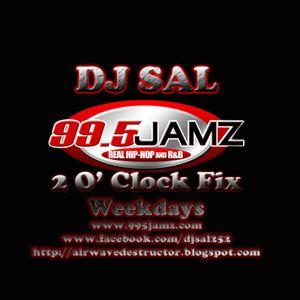 DJ Sal - 2 O'Clock Fix 09-03-12 (Hustle Squad DJs Version)