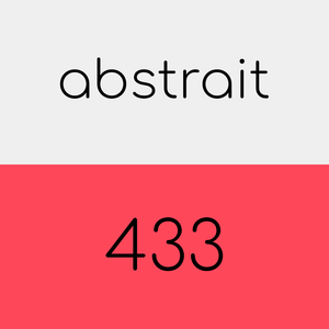 abstrait 433 - the soundtrack for a moment