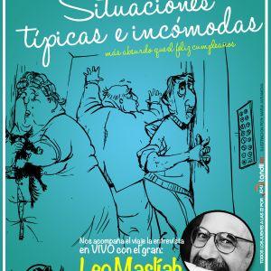 #23 Situaciones típicas e incómodas · Entrevista con Leo Masliah · 01·11·12