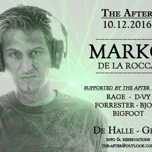 Bigfoot @ The After invites Marko De La Rocca!! 10/12/16