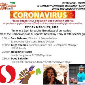 Coronavirus Special 10 - Doug Baldwin & Josephine Howell