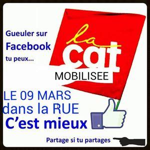 D4B - ANTENNE OUVERTE CGT 8 mars à 18h10 et 9 mars à 13h00