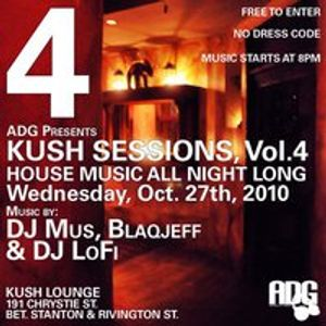 KUSH SESSIONS VOL.4 (DJ Lo-Fi)