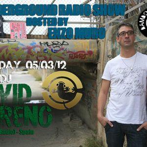 LA Underground Radio Show w/ DAVID MORENO (Ibiza Global Radio) hosted by Enzo Muro