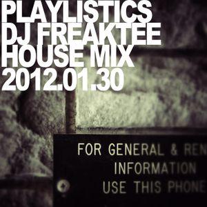DEEP HOUSE MIX @ PLAYLISTICS