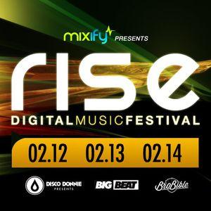 Walden - Mixify pres. RISE Digital Music Festival - 12.02.2013