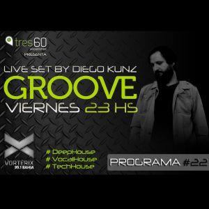 Groove #22 @ Vorterix Bahía (emitido el 09-06-17)