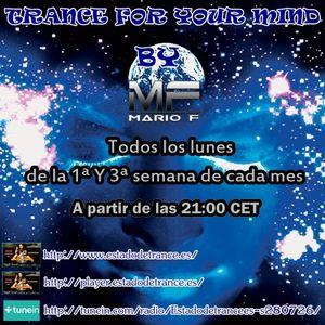 Mario F - Trance For Your Mind 002 @ estadodetrance.es (19.12.2016)