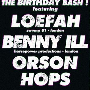 BCR Special - Version presents Loefah, Seamus, Benny Ill, Hops & Orson