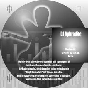 DJ Aphrodite 2010 Melodic Mix CD