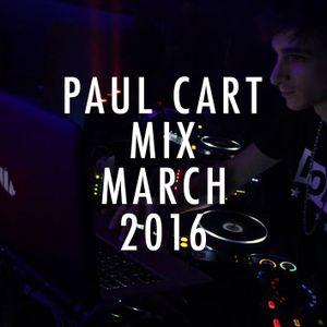Paul Cart @ Mix March Chart 2016