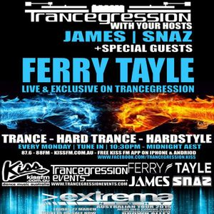 Ferry Tayle b2b Snaz on Trancegression 369 Kiss FM Dance Music Australia 2/2/15