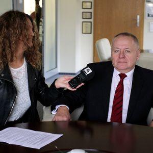 Rektor Politechniki Białostockiej - prof Lech Dzienis w Radiu Akadera