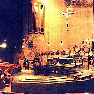 Klangräume SYMPHONY OF SOUNDS by J. Heimrath / M. Reimann / J. Zygar,  Abtei Königsmünster June 1991