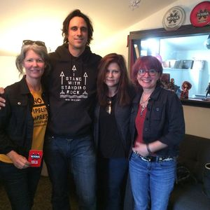 Mike Younger with Jeanne Peterson and Kris Hauser recorded live in-studio on WXNA! 5/6/17