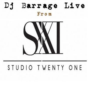 Dj Barrage Live from Studio XXI NYC