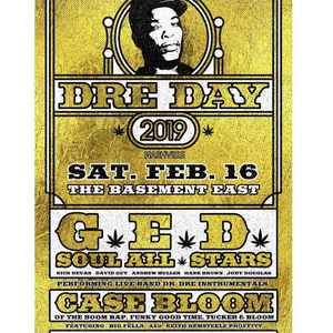 Dre Day 2019 at the Basement East 20190216