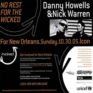 Danny Howells & Nick Warren - Live @ Involved (2005)