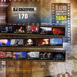 TWC 170 (2014) DJ Crayfish MIX 110 (20th ANNIVERSARY OF DANCE HITS 1994) 100 EURODANCE HITS