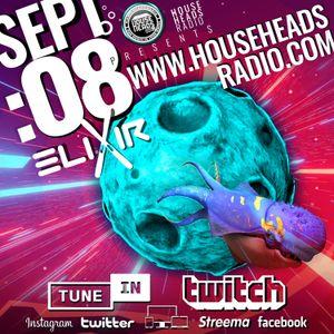 elixir - LIVE - Sept 08 - House Heads Radio UK - 2021