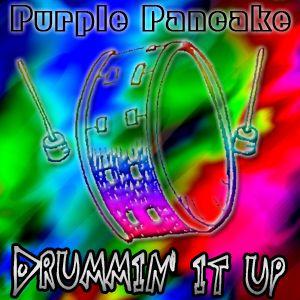 Purple Pancake - Drummin' it up.