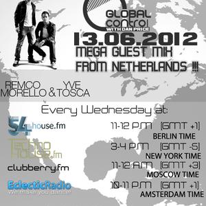 Dan Price - Global Control Episode 063 (13.06.12) Remco Morello & Yve Tosca Guestmix