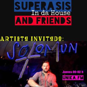 1.-SUPERASIS INDAHOUSE & FRIENDS + SOLOMUN -RADIO LIVE-09.09.2016 EPISODE 1