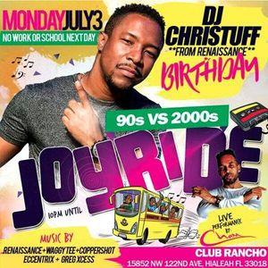 JOYRIDE DANCEHALL PROMO MIX 90S vs 2000S - RENAISSANCE Disco Mixed DJ CHRISTUFF DI MADYUTE