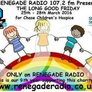 Eddie Voyager live on Renegade Radio for the Long Good Friday