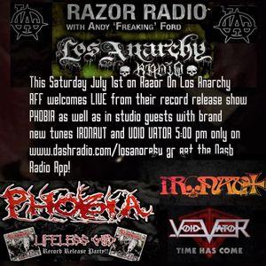 Phobia and Ironaut on Razor On Los Anarchy!