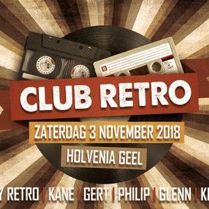 Dj Gert @ Club Retro 03-11-2018