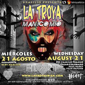 Felix Da Funk @ La Troya at Heart Ibiza 2019