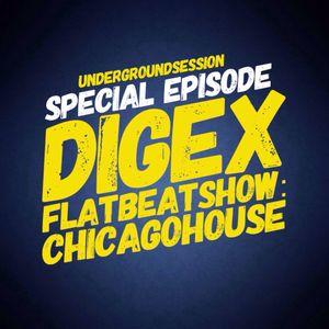 HOUSE MUSIC // DJ Digex 'RADIO KAOS CARIBOU FRANCE' Flat Beat Show Replay 18.11.2017