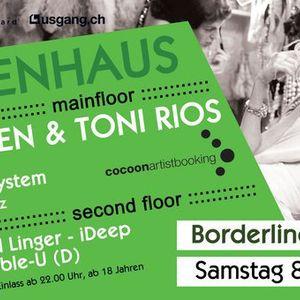 Steve Cole | live DJ-Mix | Freudenhaus @ Borderline, Basel