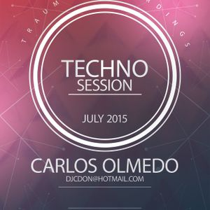 Carlos Olmedo - Techno July Session 2015 Trauman Recordings
