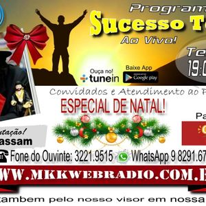 Programa Sucesso Total NATAL 20/12/2016 - Felipe Moreira e Fabio Moreira