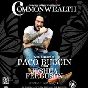 Commonwealth 19 October 2011 featuring Paco Buggin