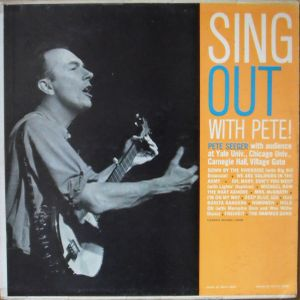 Pete Seeger / Sing Out With Pete!  /  Folkways Records  FA 2455