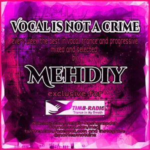 Vocal is not a crime ep.#113 mixed by Mehdiy live at Timb-radio.com