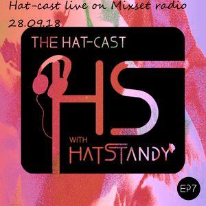 Hat-cast live on Mixset radio 28.09.18