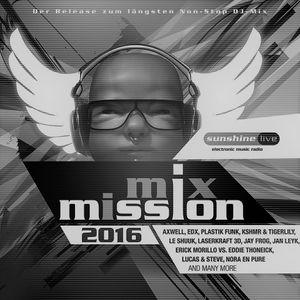 Nicky Romero - Mix Mission 2016 - 25.DEC.2016