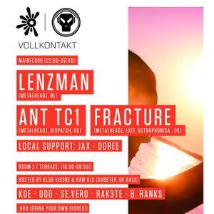 Doree @ Vollkontakt pres OUTLOOK FESTIVAL x METALHEADZ TOUR 2015 | 300515