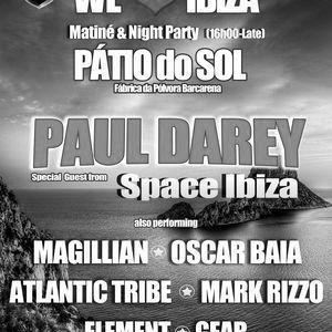 MAGILLIAN live at We ♥ Ibiza @ Pátio do Sol part.2 (16.06.2012)