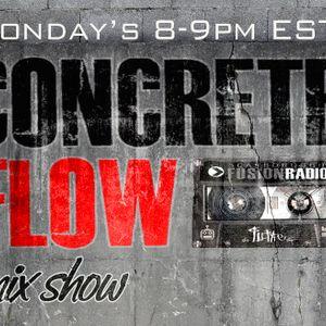 FEB-6/12-Concrete Flow Mix Show w/ DJ BRIZZY