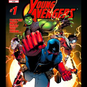 44 - Young Avengers #1, The First Appearance Of The Young Avengers