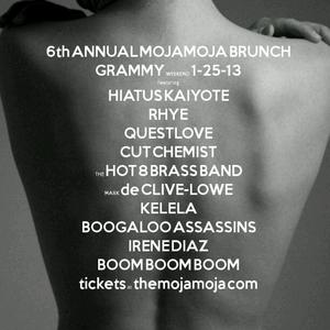 6th Annual MOJAMOJA Pre-Grammy Brunch Mix by DJ Brazilia, powered by LA Weekly