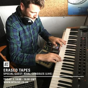 Erased Tapes w/ Rival Consoles - 5th September 2016