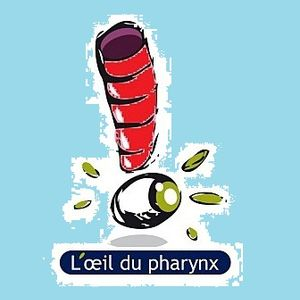 """""""L'Oeil du Pharynx 1"""" par Nicolas Caudeville"""