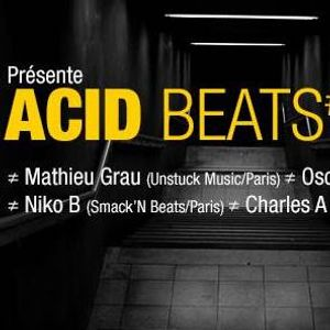 #2 Charles Atkinx - ACID BEATS #4 By Smack'N Beats  @Batofar - 12.07.2017